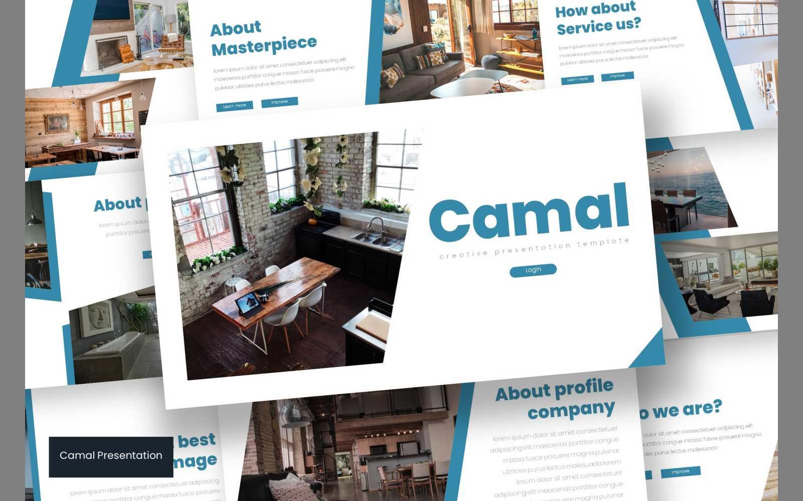 Camal PowerPoint Template