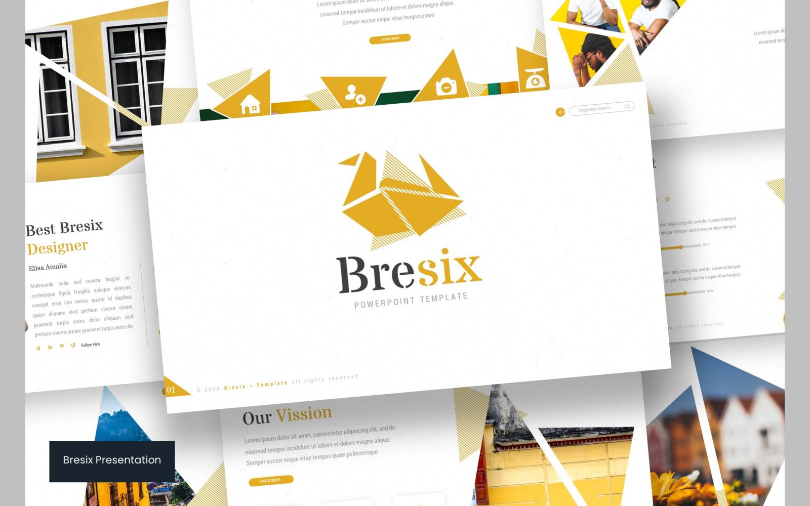 Bresix PowerPoint Template