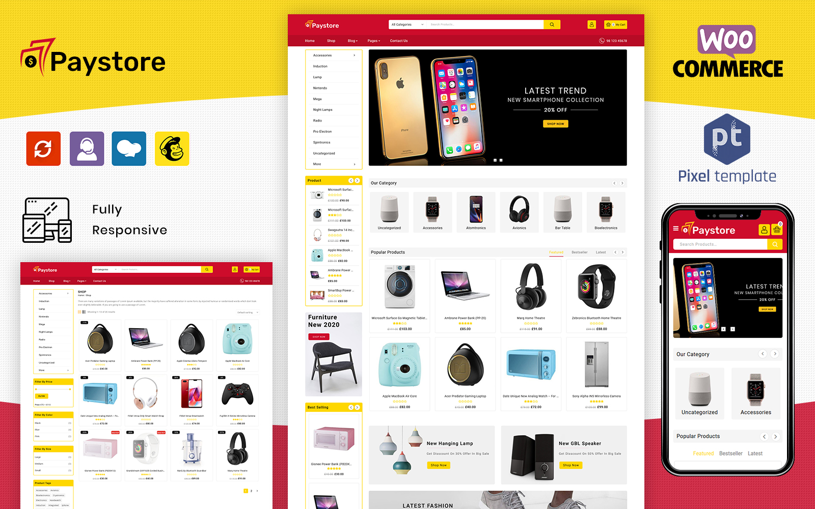 PayStore - Multipurpose WooCommerce Theme