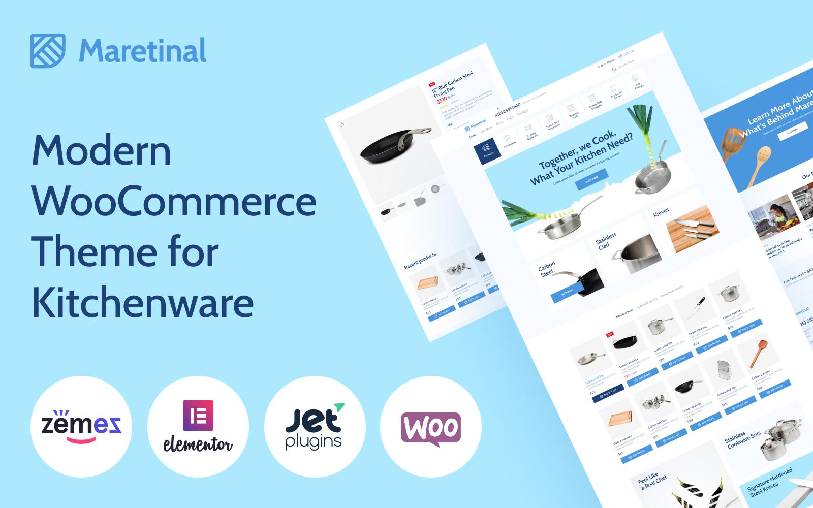 Maretinal - WooCommerce Household Products WooCommerce Theme