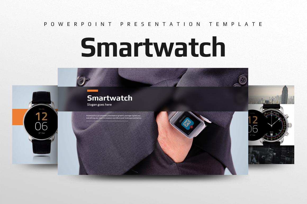 Smart Watch PowerPoint Template