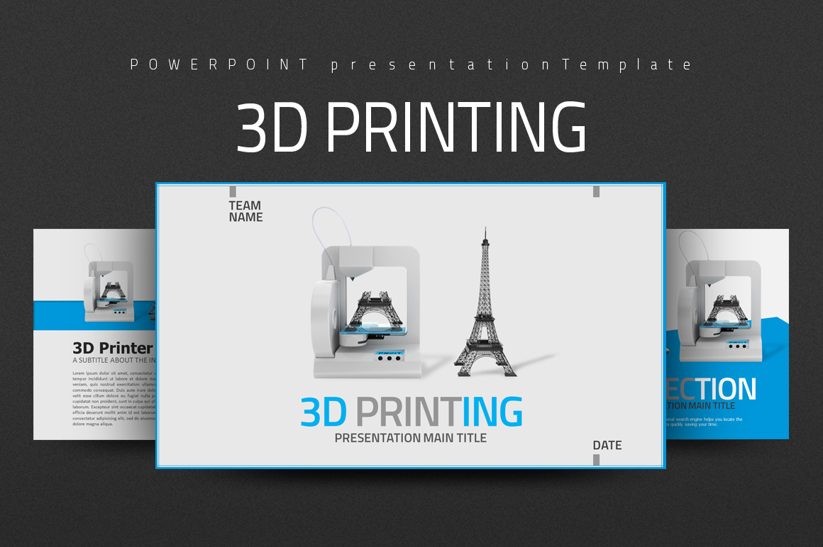 3D Printing PowerPoint Template