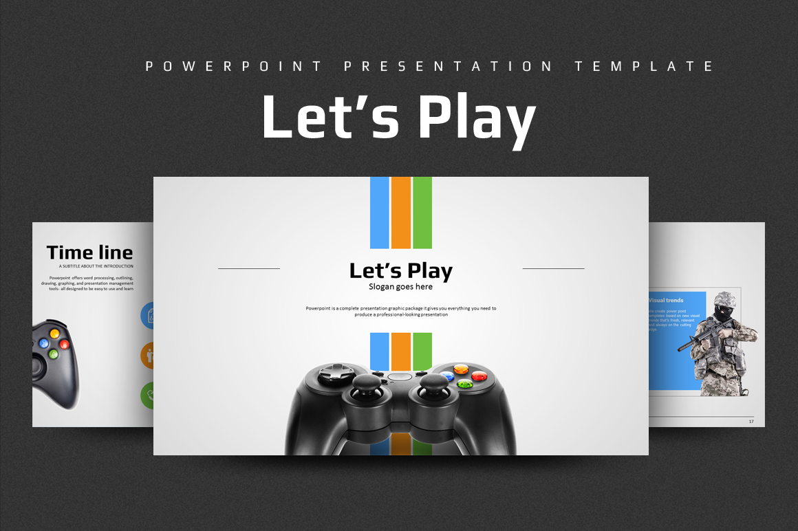 Let's play PowerPoint Template