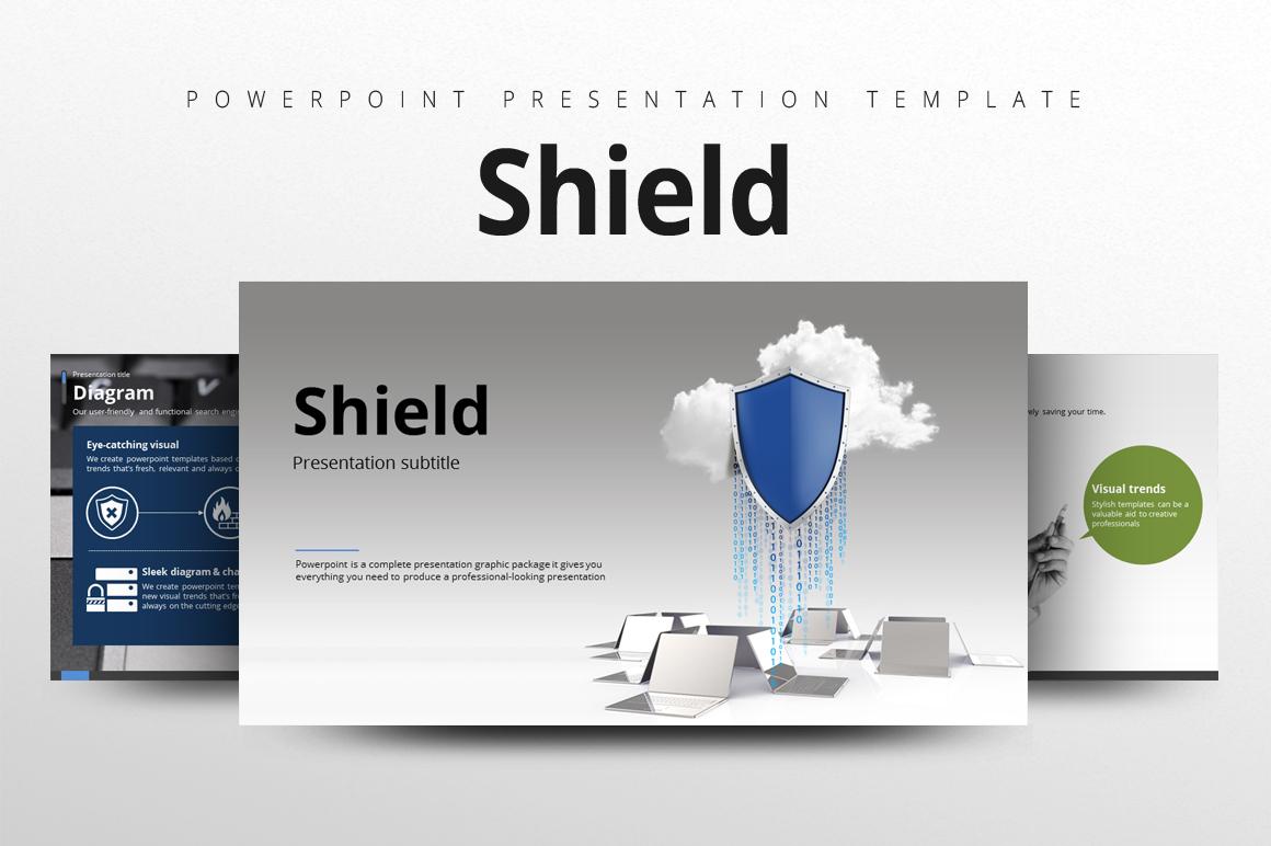 Shield PowerPoint Template
