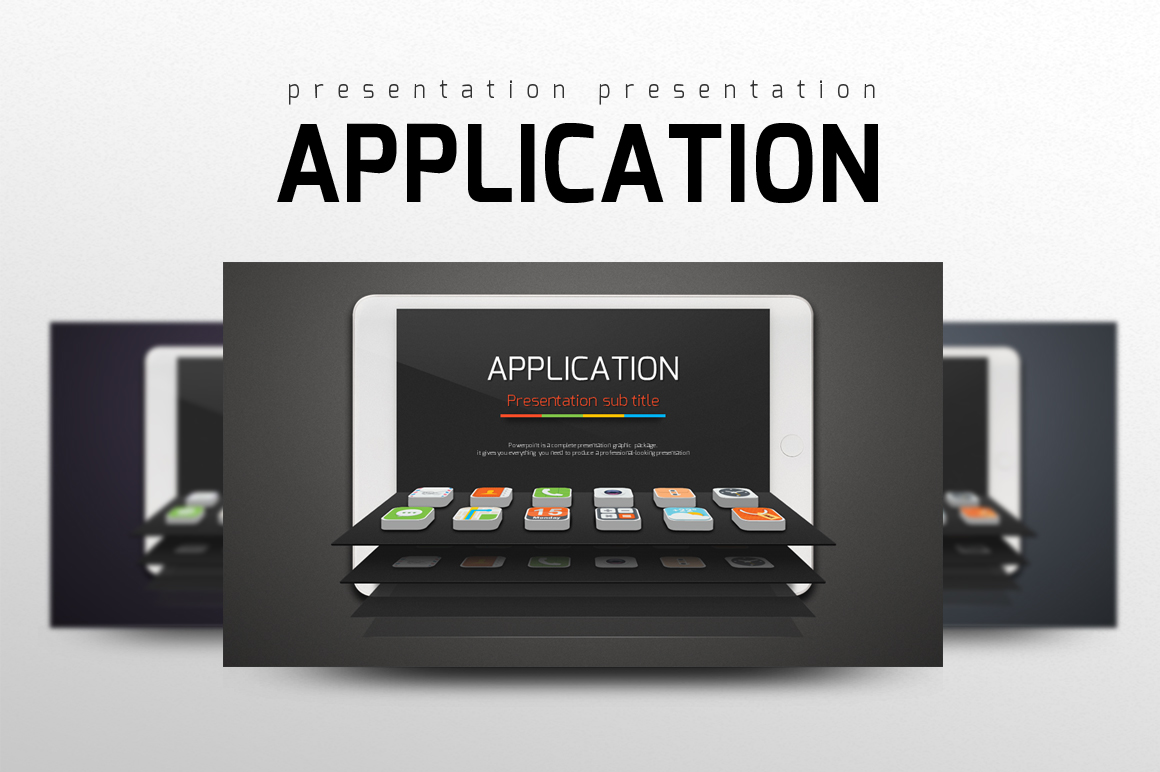 Application PowerPoint Template