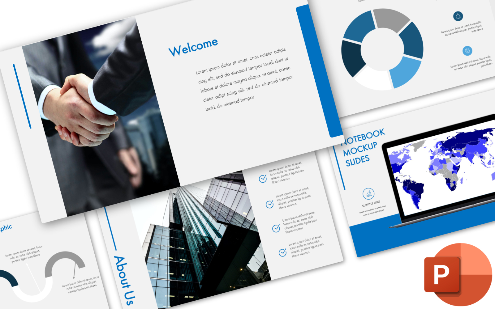 Pitch Deck - Presentation PowerPoint Template