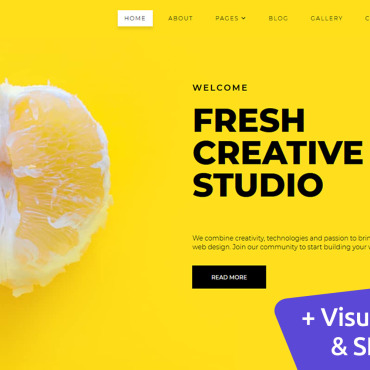 Template Web Design Moto CMS 3 #102444