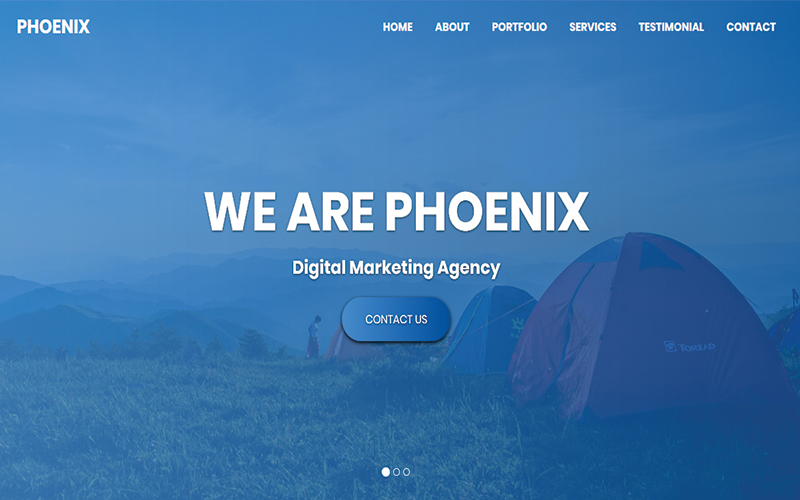 Phoenix - Multipurpose HTML Landing Page Template
