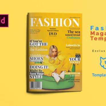 Template Afaceri Magazine Templates #102575