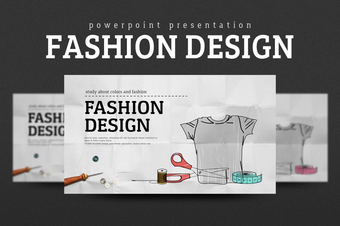 fashion design PowerPoint Template