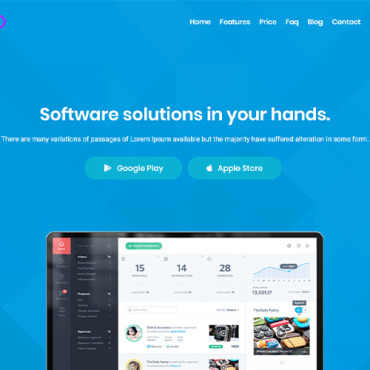 Website Template № 102768
