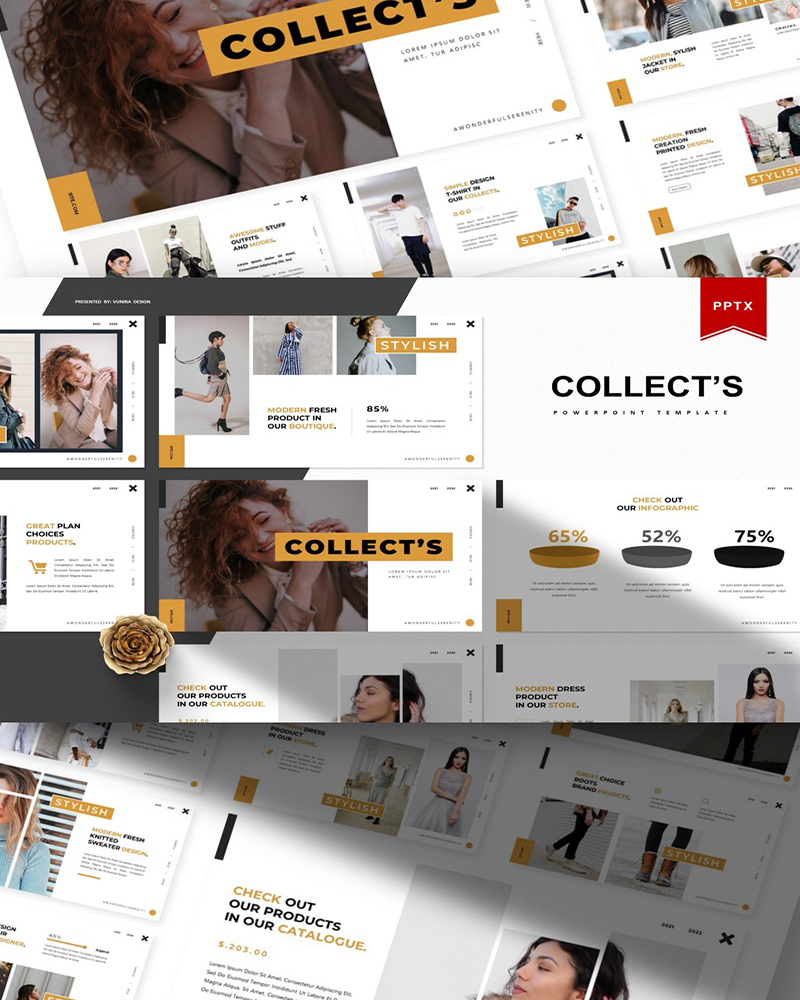 Collect's   PowerPoint Template