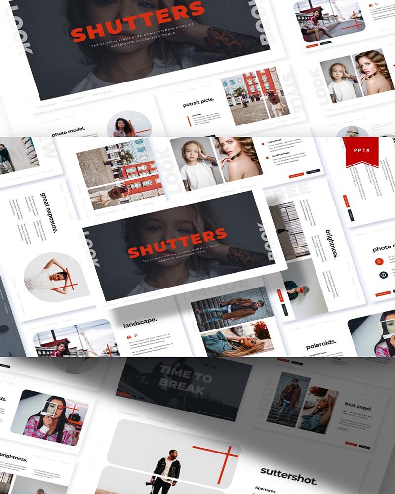 Shutters | PowerPoint Template