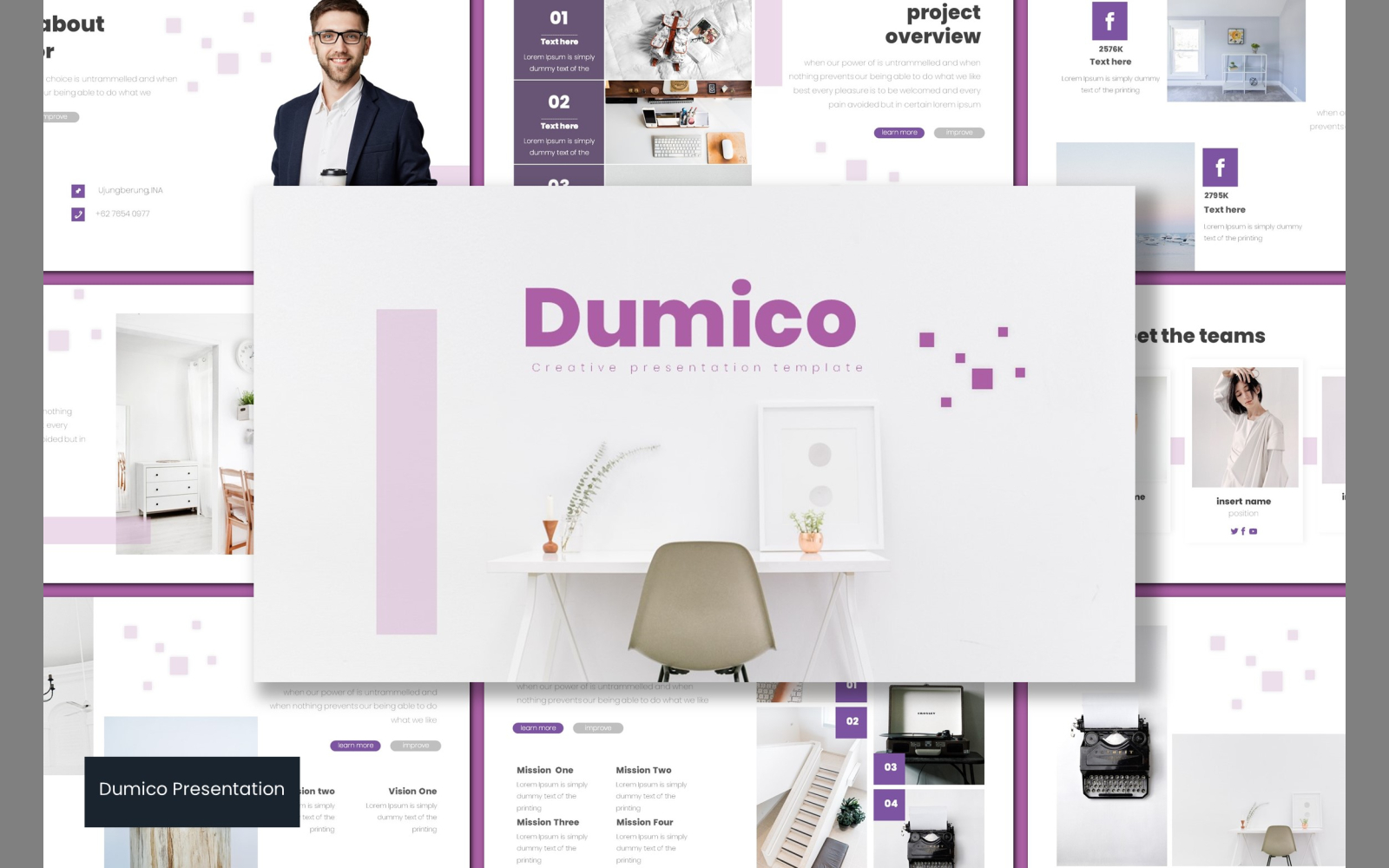 Dumico PowerPoint Template