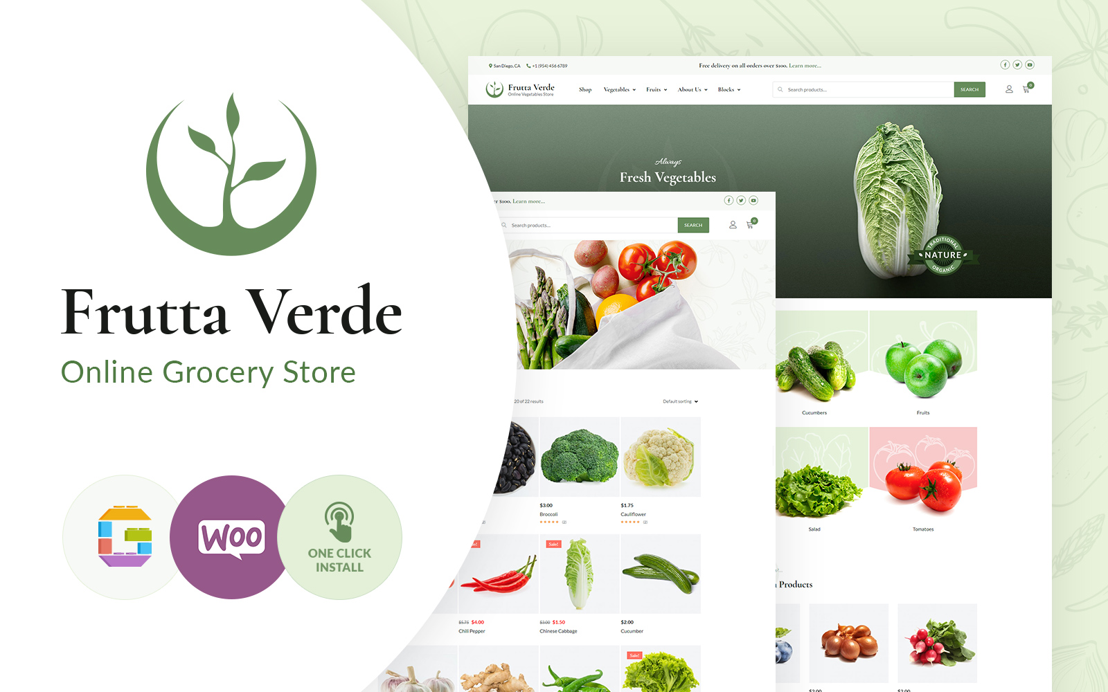 Frutta Verde WordPress Theme