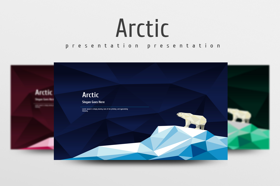 Arctic PowerPoint Template