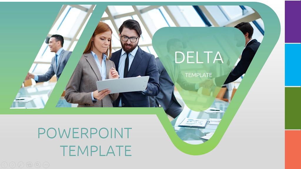 Delta PowerPoint Template
