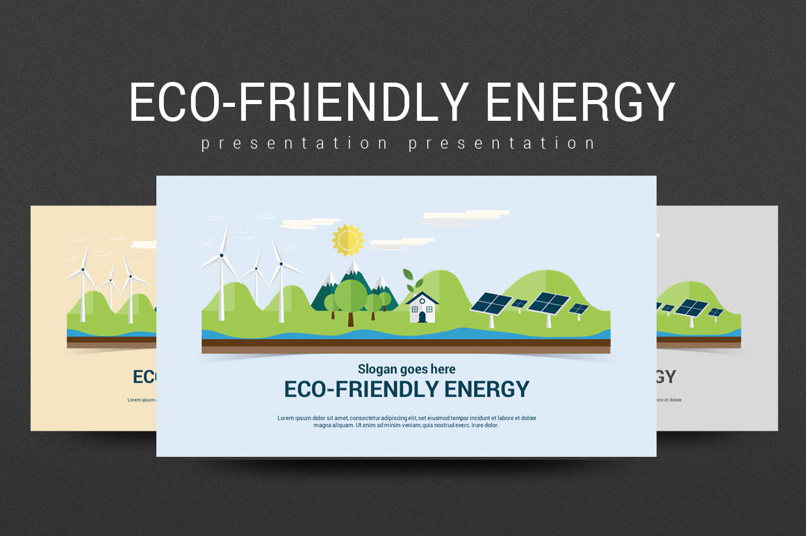 Eco-Friendly Energy PowerPoint Template