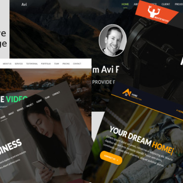 Website Template № 103098