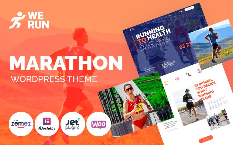 WeRun - Marathon WooCommerce Theme