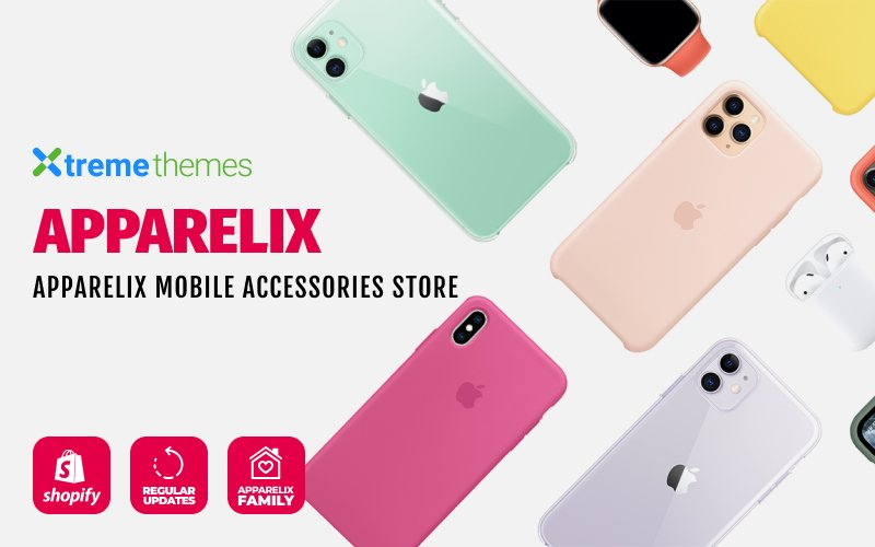 Apparelix Mobile Accessories Shopify Theme