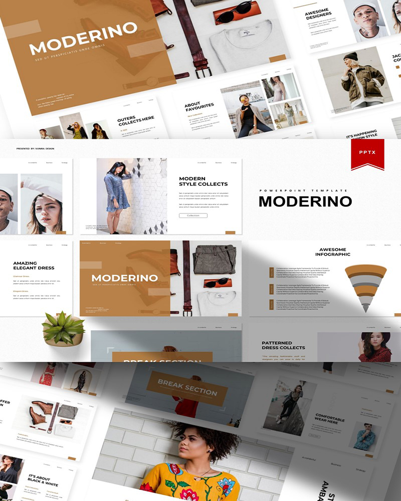 Moderino | PowerPoint Template