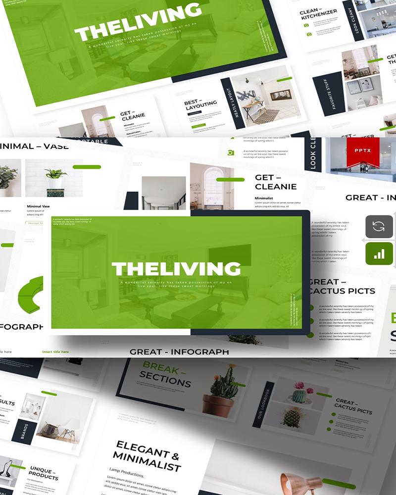 The Living | PowerPoint Template