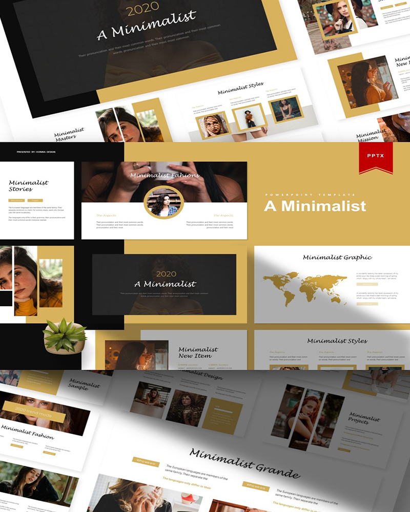 A Minimalis | PowerPoint Template