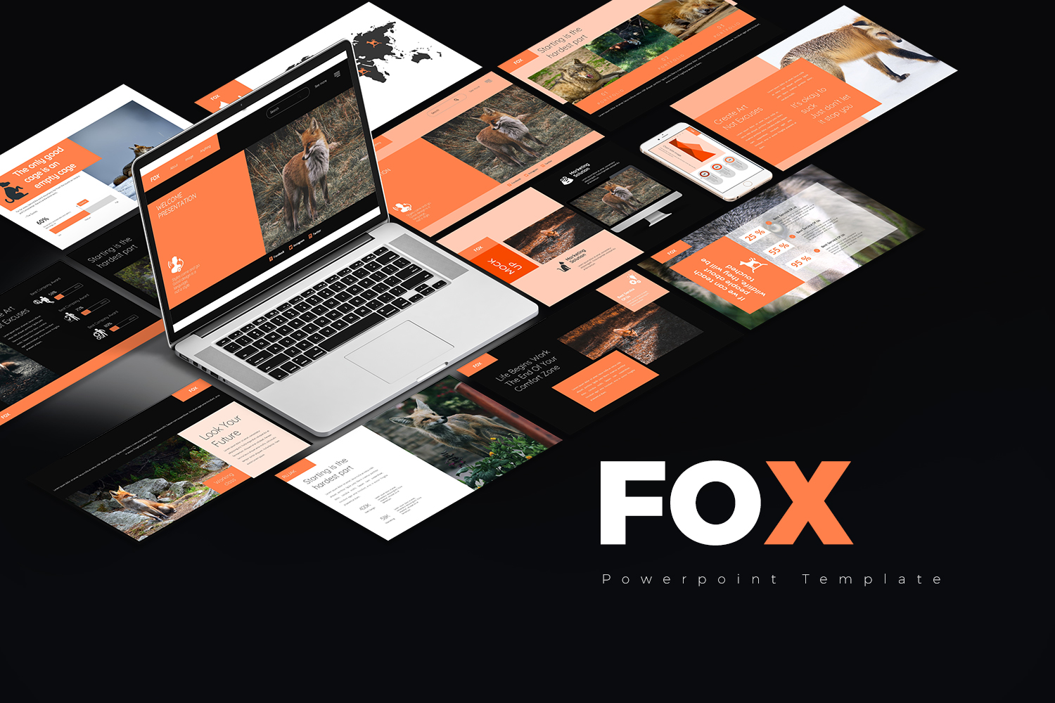 Fox Presentation PowerPoint Template