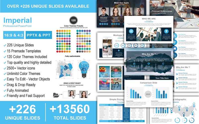 Imperial Professional PowerPoint Template
