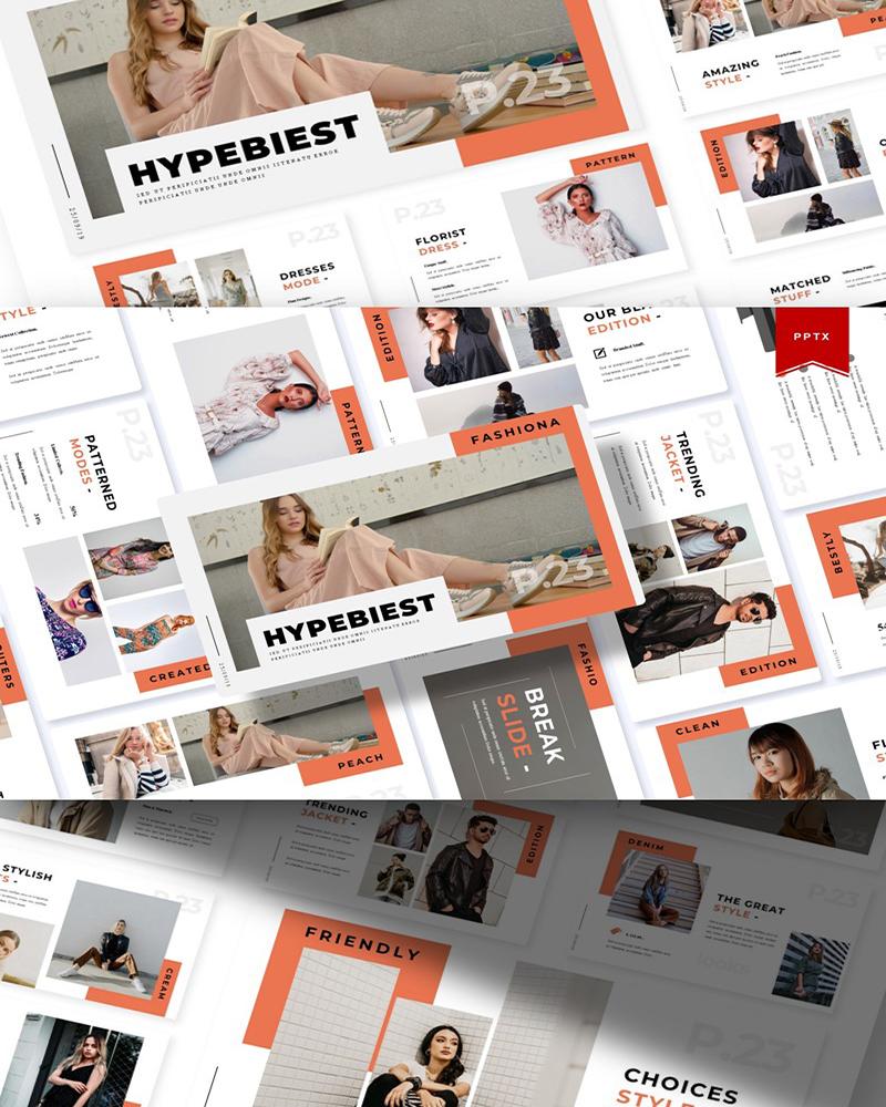 Hypebeast | PowerPoint Template