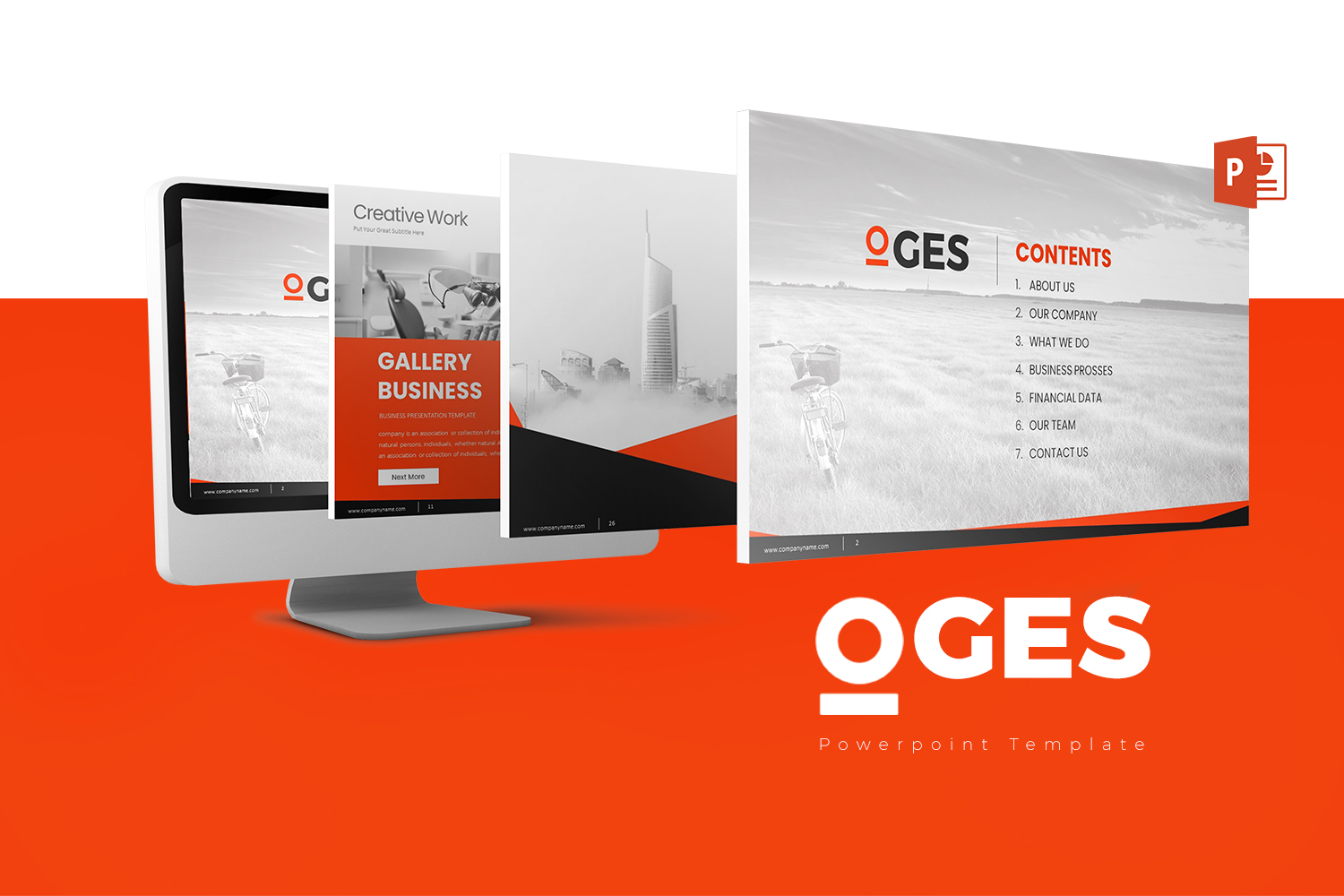 Oges Presentation PowerPoint Template