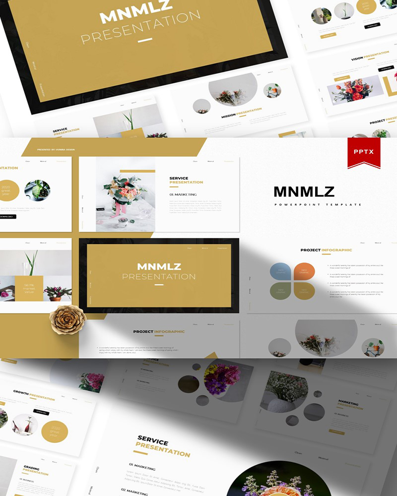Mnmlz | PowerPoint Template