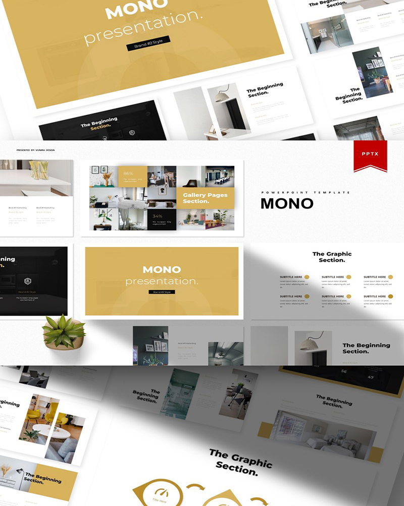 Mono | PowerPoint Template