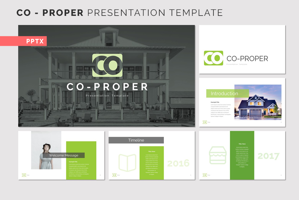 CO - PROPER PowerPoint Template
