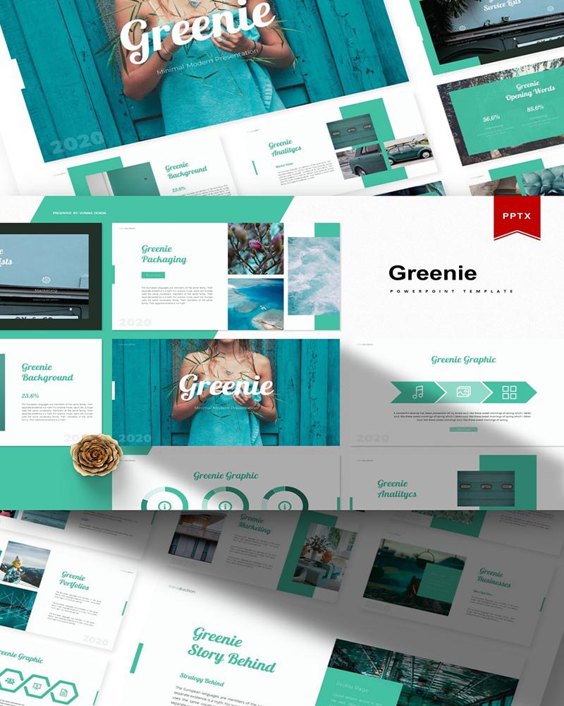 Greenie | PowerPoint Template