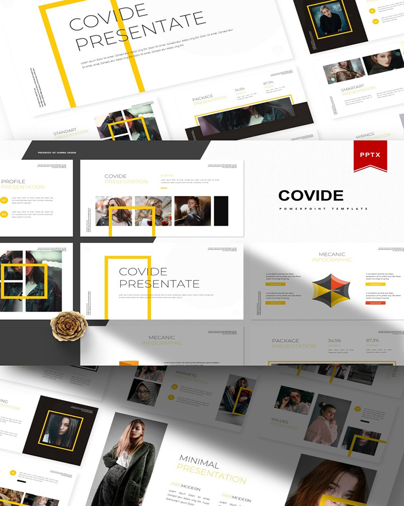 Covide | PowerPoint Template