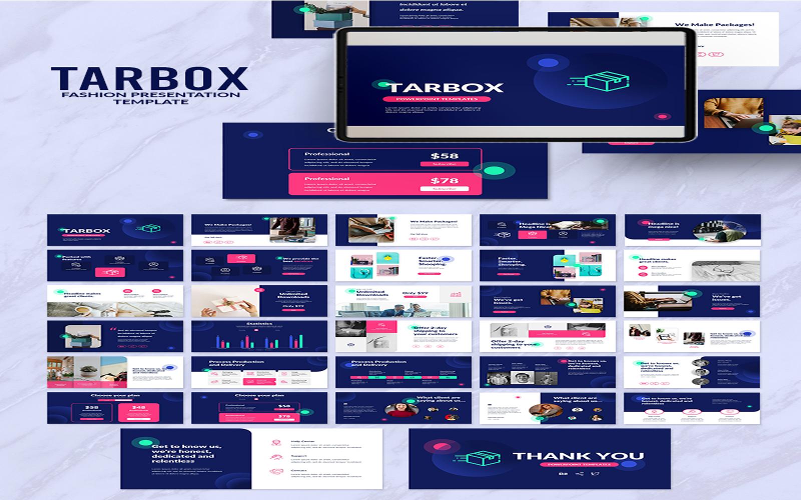 Tarbox Presentation PowerPoint Template