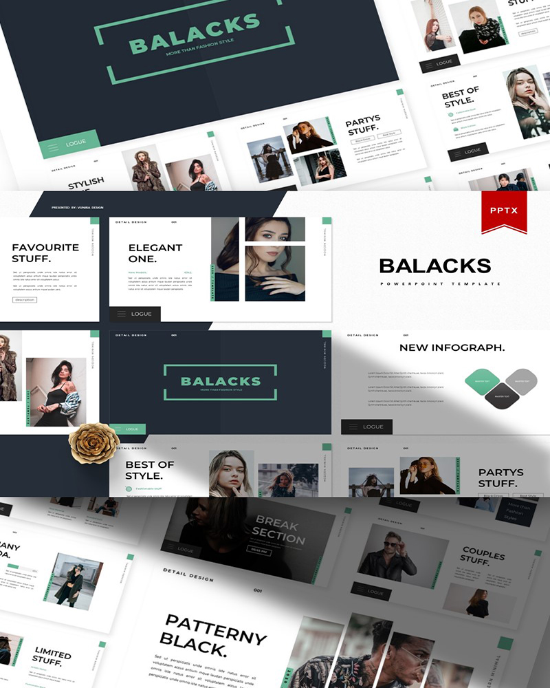 Balacks | PowerPoint Template