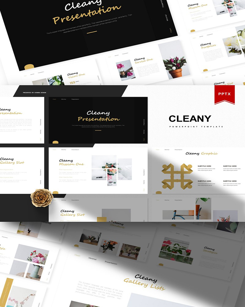 Cleany | PowerPoint Template
