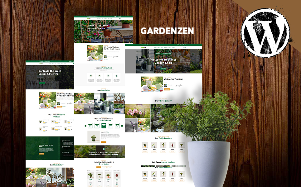 Gardenzen | Garden & Plants Shop WordPress Theme