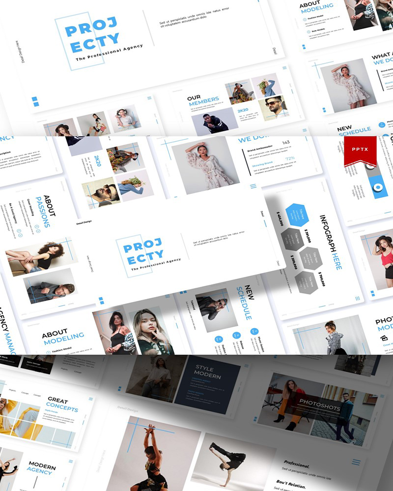 Projecty | PowerPoint Template
