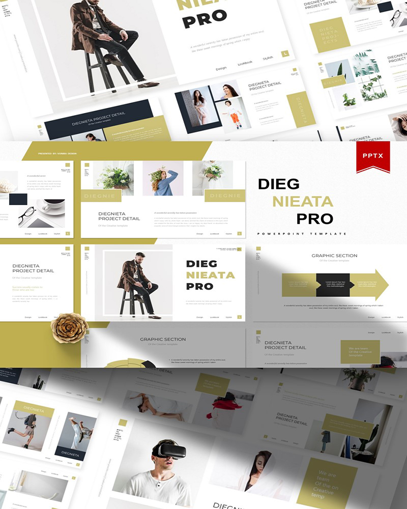Diegnieta | PowerPoint Template