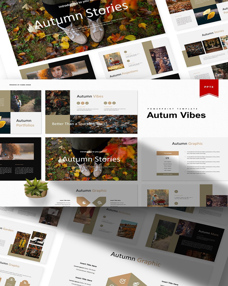 Autum Vibes | PowerPoint Template