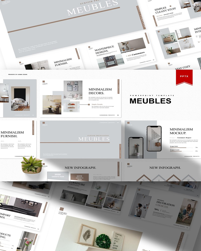 Meubles | PowerPoint Template