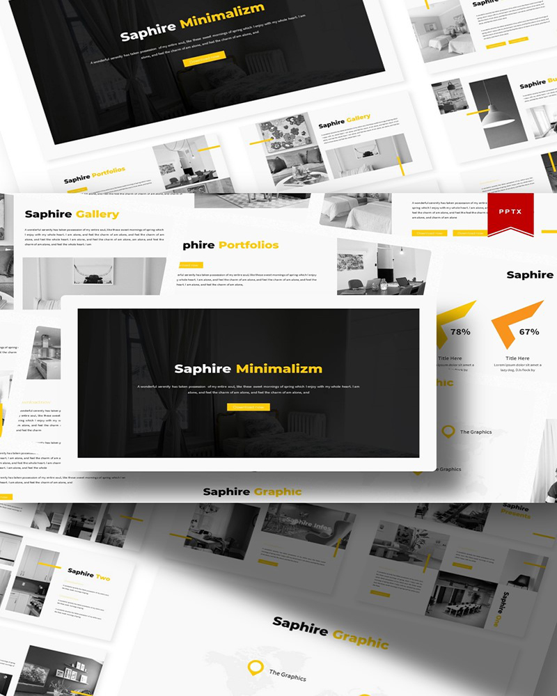 Saphire | PowerPoint Template