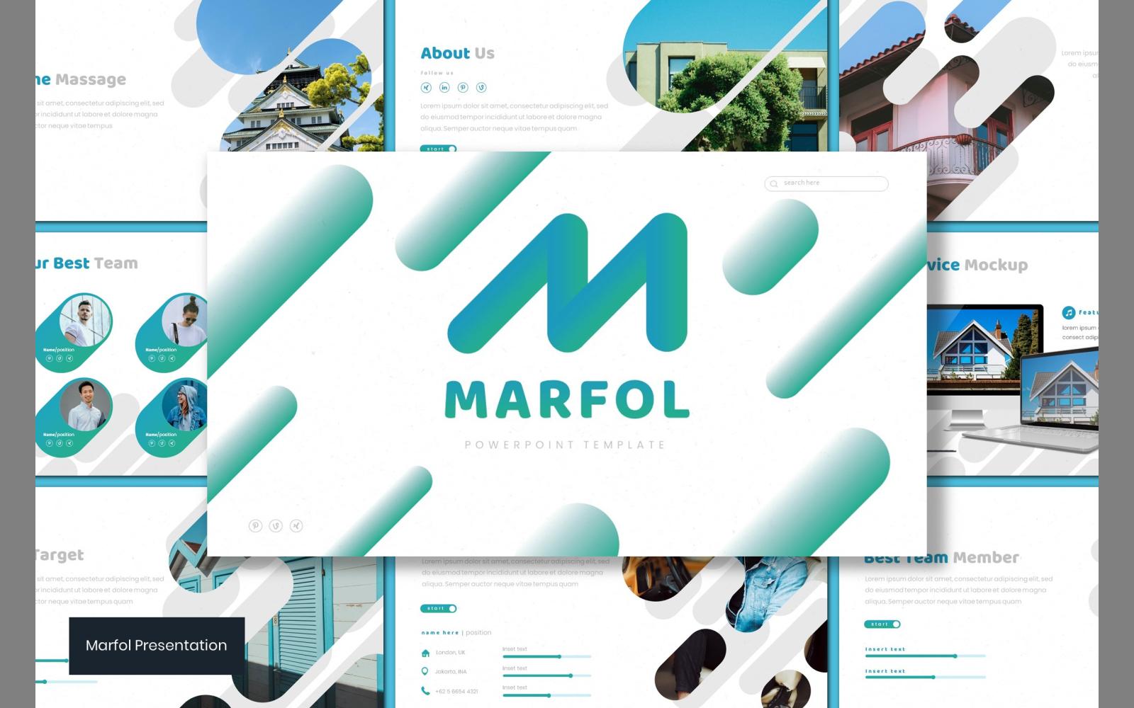 Marfol PowerPoint Template