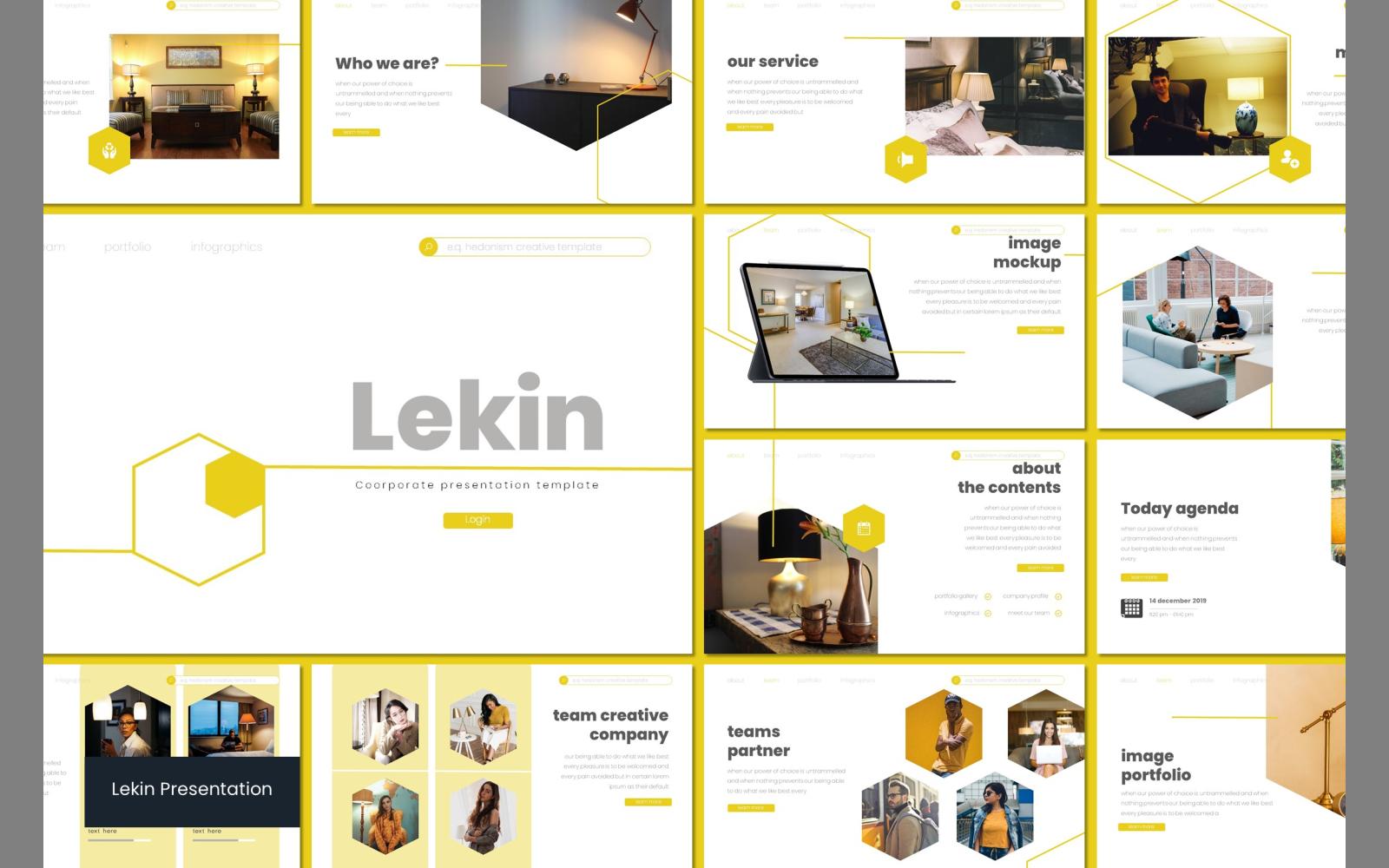 Lekin PowerPoint Template