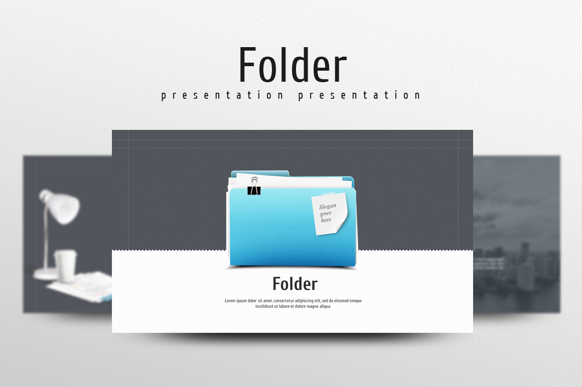 Folder PowerPoint Template