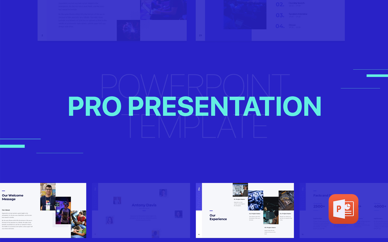 Pro Presentation - Animated PowerPoint Template